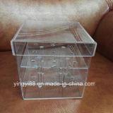 Cadre acrylique en cristal en gros de fleur pour le cadeau