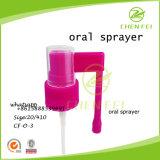 Pulverizador oral plástico vívido do uso médico da cor CF-O-3