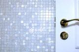 Mosaico puro de la casilla blanca del shell de la perla de agua dulce de la madre
