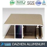 Profil d'extrusion de porte de guichet en aluminium de vente directe d'usine avec la couleur différente