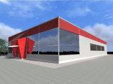 Costruzione chiara prefabbricata ambientale della fabbrica/magazzino della struttura d'acciaio