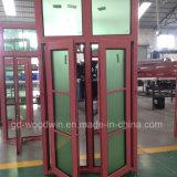 La calidad de Woodwin garantizó la ventana de aluminio de la rotura termal de cristal doble
