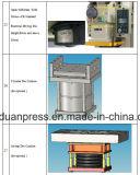 Imprensa progressiva lateral reta 600ton com os motores de Formosa Teco, rolamentos de Japão NTN/NSK, válvula de solenóide do dobro do Taco de Japão