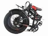 20 بوصة إطار العجلة سمين كهربائيّة يطوي درّاجة