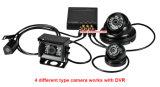8 carro DVR das câmeras 3G 4G com perseguidor 8CH Mdvr do GPS