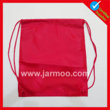 210dカスタム絹の印刷のバックパックのドローストリングのショッピング・バッグ