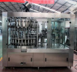 Máquina de etiquetas de vidro de enchimento e tampando giratória do frasco da máquina