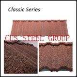 Material para techos revestido de piedra del metal/material para techos/materiales del granero para el material para techos/mejor el material para techos de acero/el coste de una azotea de acero/de azulejos de azotea clásicos costados