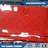 Hoja/bobina/tira de aluminio cubiertas color para tapa aluminio