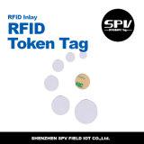 Tag Printable da moeda de NFC para a identificação