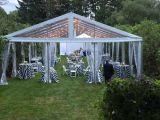 Barraca do pavilhão da lona impermeável grande para a mobília do jardim do casamento ao ar livre