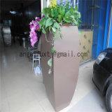최신 판매 304의 솔질된 완료 스테인리스 큰 남비 꽃 재배자 남비