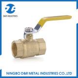 Шариковый клапан изготовления латунный для газа