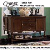 Amerikanischer Art-festes Holz-Seiten-Schrank für Wohnzimmer-Möbel As808