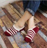 Платье хлопка Customed верхнего качества конструкции способа Socks лодыжка Anti-Slip Scoks