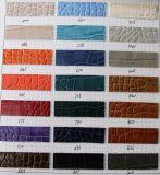 Кожа сумки мешка PVC PU высокого качества прочная выбитая (K539)