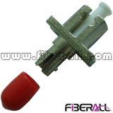 Adattatore ottico LC della fibra ibrida al simplex del metallo di conversione della st