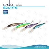 Angler Select cebo artificial de plástico señuelo de pesca de buceo profundo con Vmc ganchos agudos (SB2095)