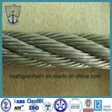 Câble métallique galvanisé de levage d'IMMERSION chaude