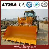 Caricatore cinese della rotella di tonnellata Zl50 di alta qualità 1-5 con la barra di comando