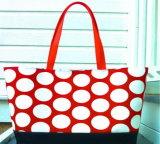 2015新しいハンドバッグ貿易キャンバス浜袋の方法ハンドバッグの工場直接防水キャンバス袋