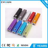 La Banca portatile di potere del USB 2600mAh di vendita prezzi superiori di colore rosa di buoni mini così