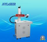 Máquina larga de la marca del laser de la fibra de la vida del funcionamiento para los varios materiales