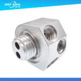 Peça de trituração do CNC do alumínio feito sob encomenda da fabricação para as peças da máquina