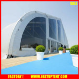 Tienda fuerte curvada tienda el 18m los 36m del marco de los deportes al aire libre del campo de tenis