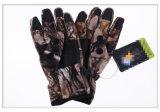 反刺針の軍のMulticamo防水野生のTraning Multicamoのカムフラージュの戦術的な屋外のBionic完全半分指のスポーツの走行の皮手袋