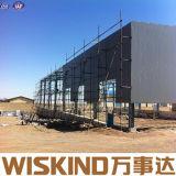 Pre-Проектированное здание стальной структуры Prefab сельскохозяйственного строительства пакгауза материальное
