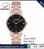 3ATM Japan Miyota Bewegungs-Uhr-Frauen-Armbanduhr-Firmenzeichen-Armband-Leder-Uhr (DC-7823)