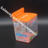 Da caixa plástica do pacote de Nuk do bebê do animal de estimação do material plástico de produto comestível projeto Foldable (caixa do pacote do nuk)