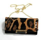 Муфта цепи бумажника женщин мешка плеча повелительницы Леопарда способа