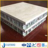 Панель Homeycomb мрамора камня цвета Brown алюминиевая для строительных материалов