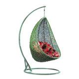 Domésticos portátil sillas colgantes para los dormitorios huevo Columpio para la terraza al aire libre de la rota por adultos
