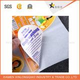 Escritura de la etiqueta adhesiva frágil de /Carton de la escritura de la etiqueta de la etiqueta engomada