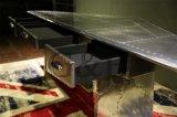 알루미늄 탁자 또는 커피용 탁자, 서랍 비행가 Spitfire 알루미늄 테이블을%s 가진 끝 모두