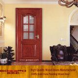Portello di legno di vetro della stanza da bagno singolo (GSP3-004)