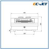 Automatische industrielle rostfreie Dattel-Kodierung-Maschine Cij kontinuierlicher Tintenstrahl-Drucker