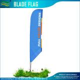 Напечатанные таможней флаги пляжа лезвия пера с Angled дном (NF04F06111)