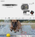 2.0 ' do LCD câmera impermeável de controle remoto sem fio do esporte DV de WiFi da câmera da ação ultra HD 4k
