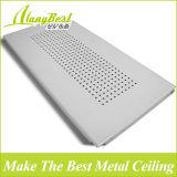 Types en aluminium de panneaux faux de plafond pour la construction