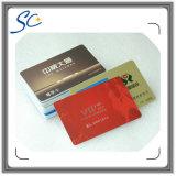 Cartão plástico feito sob encomenda do presente do PVC da impressão Cr80