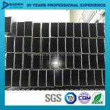 Profil en aluminium d'extrusion pour la taille personnalisée par pipe carrée de tube de rectangle