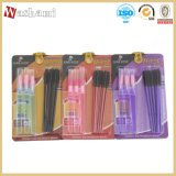 Washami 9 pièces Professional Makeup Tool Meilleur Mascara Lip Gloss Cosmetic Brushes