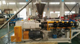 Composto rígido macio do PVC que granula fazendo a máquina