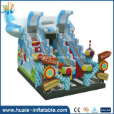 Diapositiva inflable gigante barata comercial popular