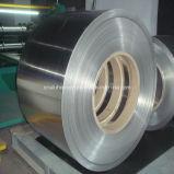 Folha de alumínio para a produção do recipiente