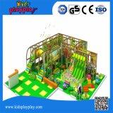 Multi функция ягнится крытая мягкая спортивная площадка с игрой взаимодействия репроектора бассеина скольжения и шарика